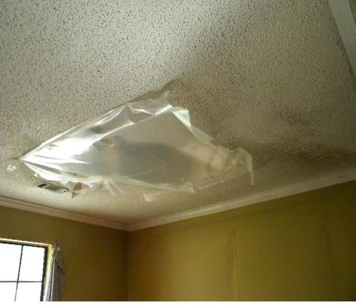 Damaged Ceiling  After