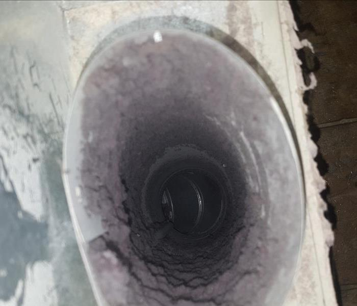 Dryer Vent Cleaning Before