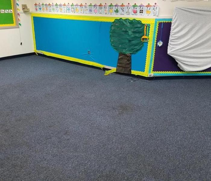 Cleaning Carpets at Local Schools Before